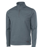 Custom Charles River Apparel Adult Stealth Zip Pullover Mens