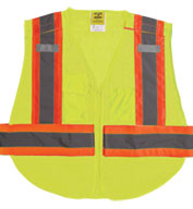 Custom Adult 5 Point Breakaway Mesh Vest