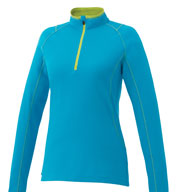 Custom Trimark Womens Knew Knit Half Zip