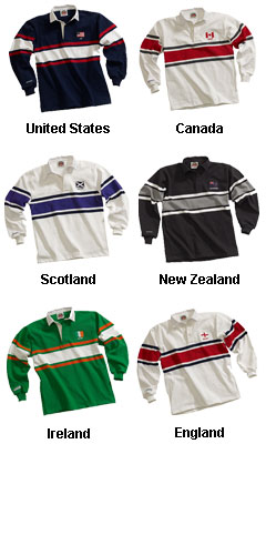Adult World Rugby Shirts - All Colors
