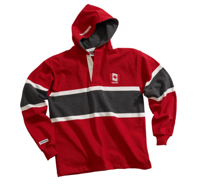Adult Hooded World Rugby Shirts
