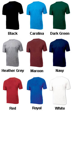 Retro Crew Neck Tee - All Colors