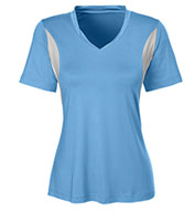 Ladies Team 365 Athletic V-Neck All Sport Jersey