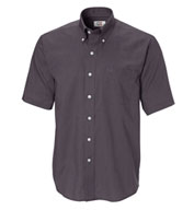 Custom Cutter & Buck Mens Epic Easy Care Short Sleeve Nailshead Shirt