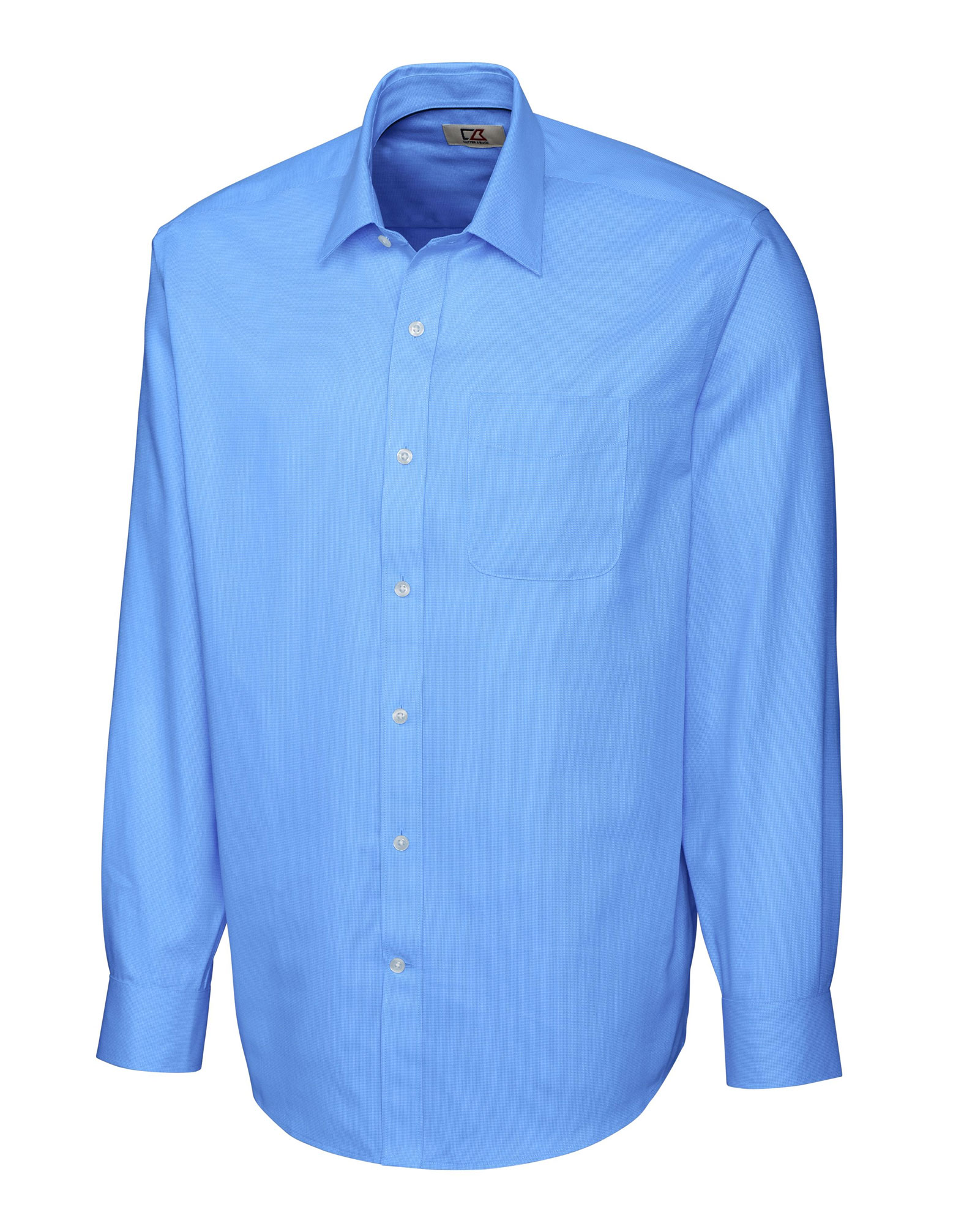 Mens Epic Easy Care Spread Collar Nailshead Dress Shirt in Big & Tall Sizes
