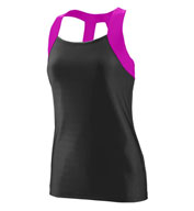 Ladies Jazzy Open Back Tank