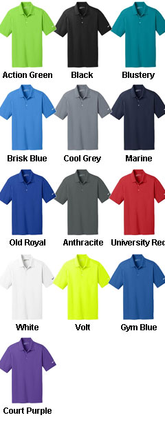 Nike Golf Dri-Fit Vertical Mesh Polo - All Colors