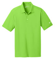 Custom Nike Golf Mens Dri-Fit Vertical Mesh Polo