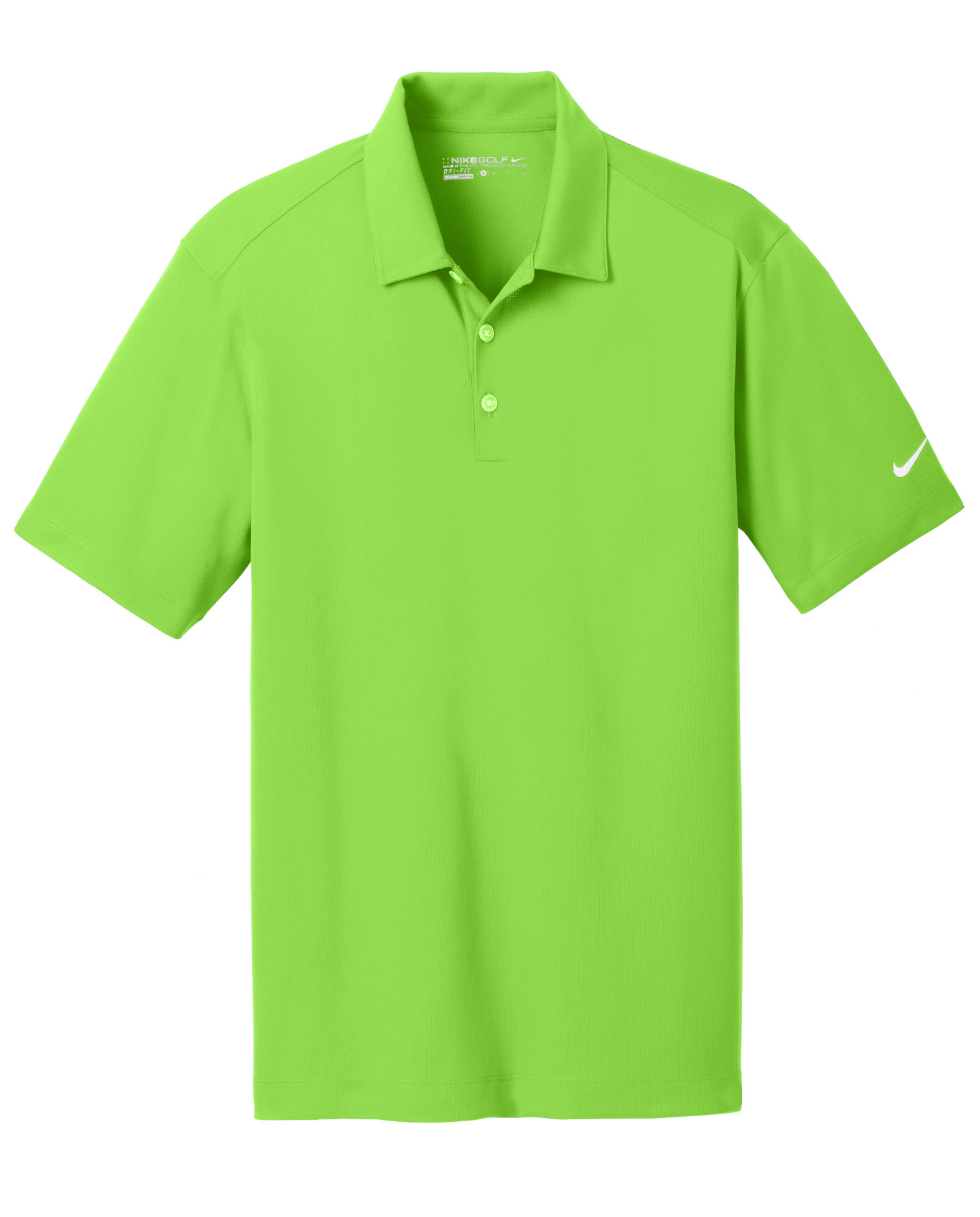 Nike Golf Mens Dri-Fit Vertical Mesh Polo