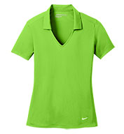Custom Nike Golf Ladies Dri-Fit Vertical Mesh Polo