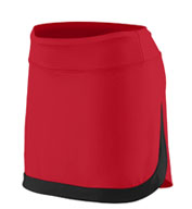 Custom Augusta Youth Girls Action Color Block Skort
