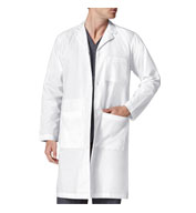 Custom WonderWink® WonderLAB Mens Long Lab Coat