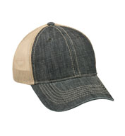 Custom Denim Mesh Back Cap