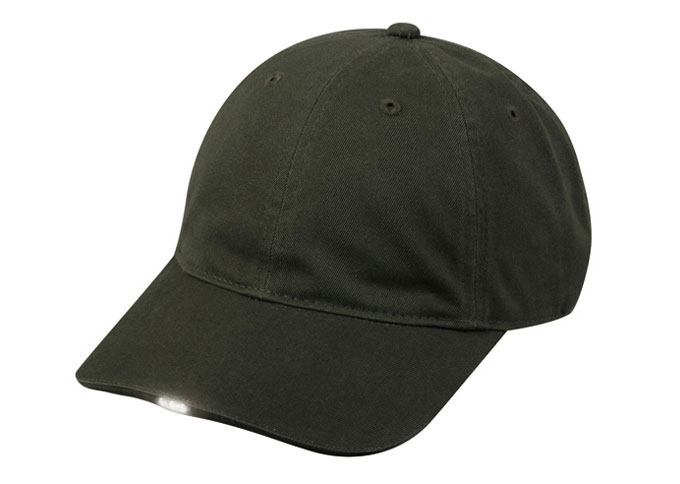 Washed Cotton Twill HiBeam Cap