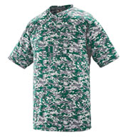 Custom Augusta Youth Digi Camo Two-Button Jersey