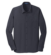 Custom Port Authority® Mens Dimension Knit Dress Shirt