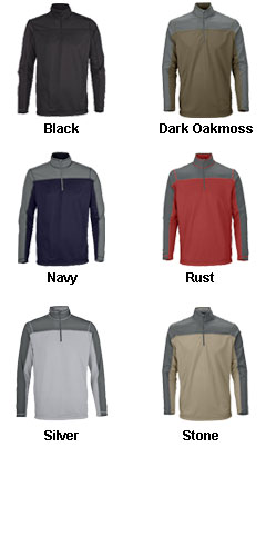 Mens Excursion Circuit Performance Half Zip - All Colors