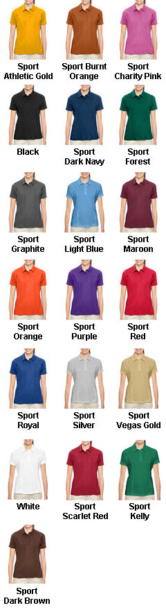 Ladies Charger Performance Polo - All Colors