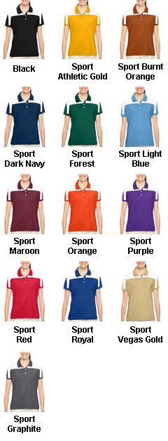 Ladies Victor Performance Polo - All Colors