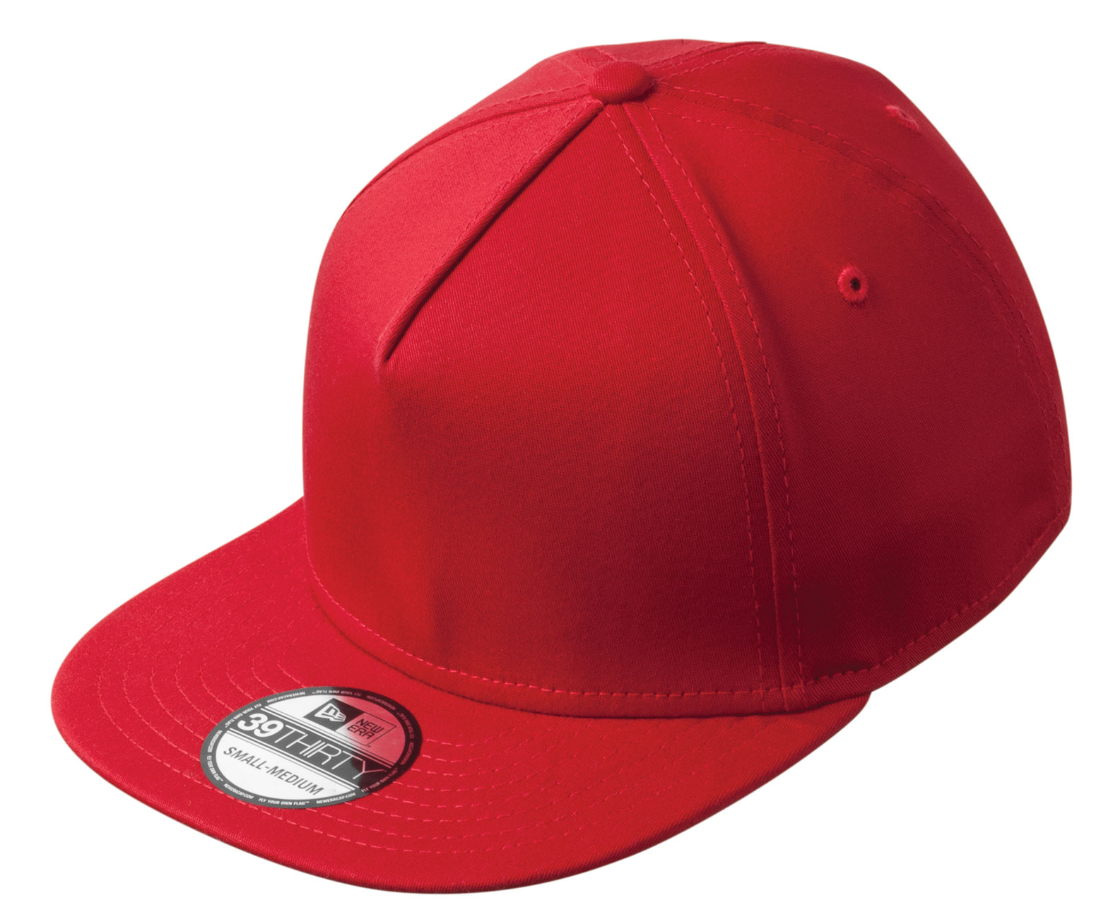 New Era® Flat Bill Stretch Cap