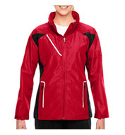 Custom Team 365 Ladies Dominator Waterproof Jacket
