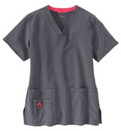 Carhartt Medical Womens V-Neck Media Scrub Top