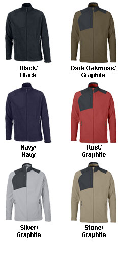 Mens Excursion Trail Fabric-Block Fleece Jacket - All Colors