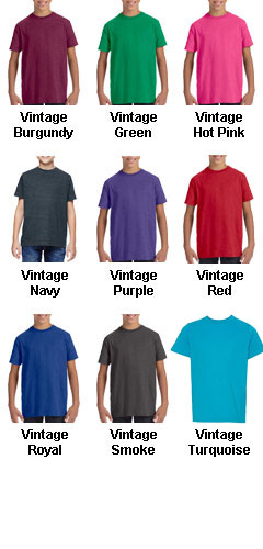 Youth Vintage Fine Jersey T-Shirt - All Colors