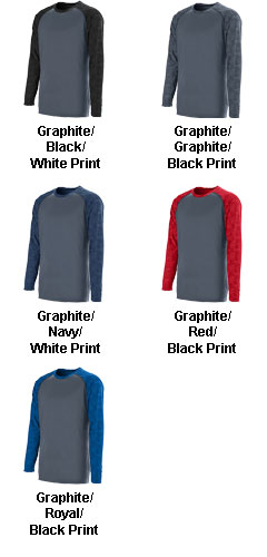 Fast Break Long Sleeve Jersey - All Colors