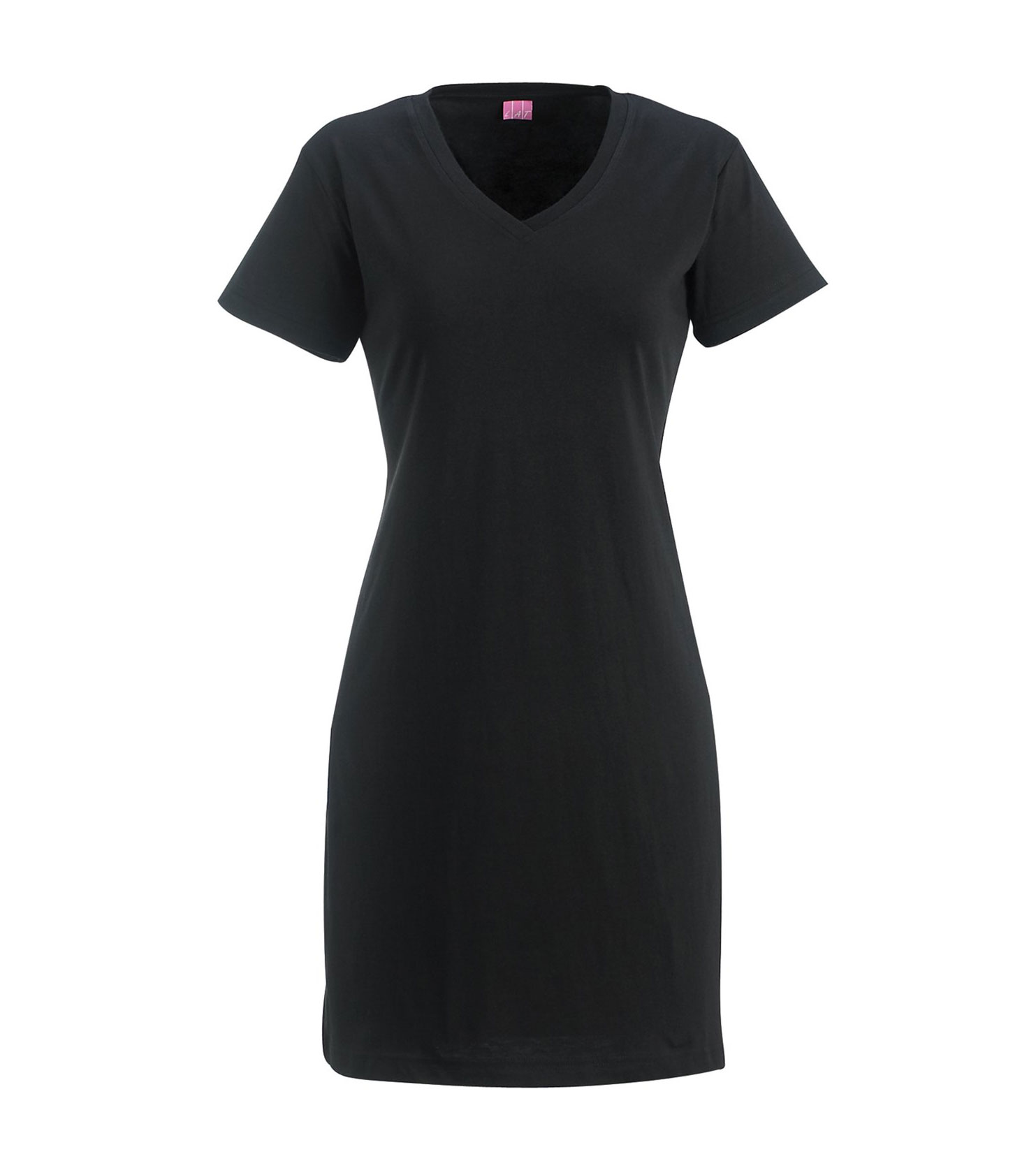Ladies Fine Jersey V-Neck Coverup Dress