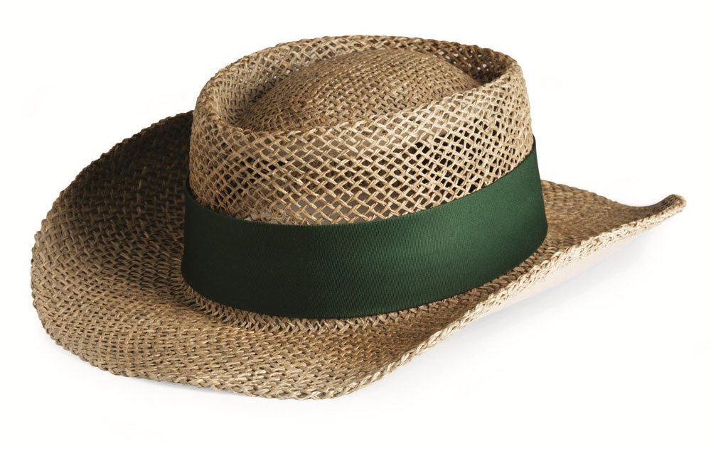 Sea Grass Straw Gambler Hat