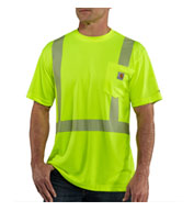 Custom Carhartt Force Mens High-Visibility Class 2 T-Shirt Mens