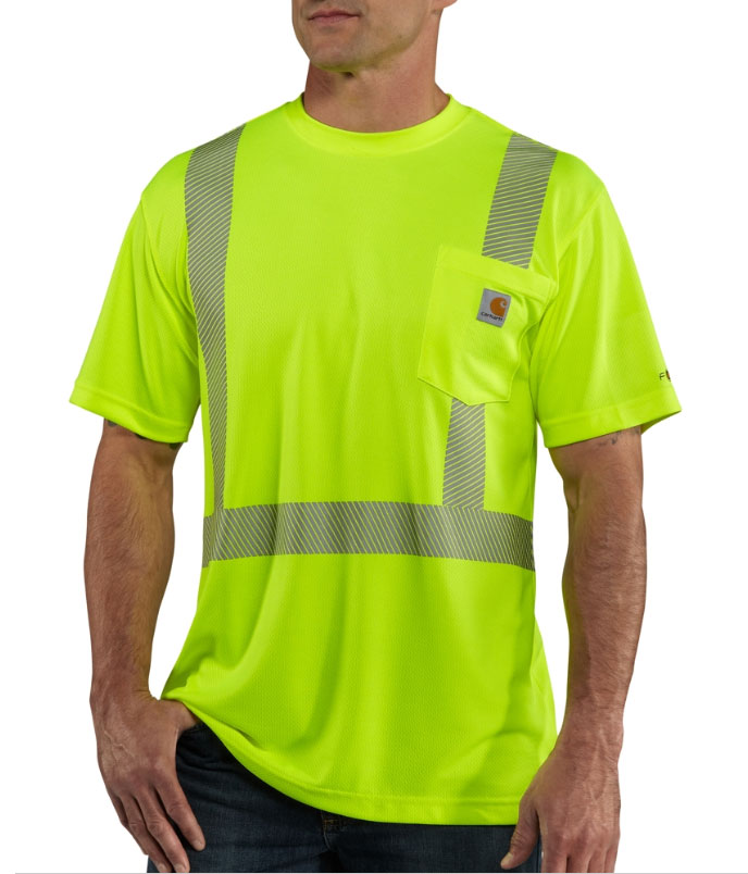Carhartt Force Mens High-Visibility Class 2 T-Shirt