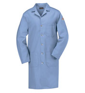 Custom Bulwark® CAT 1 Flame-Resistant Mens Lab Coat