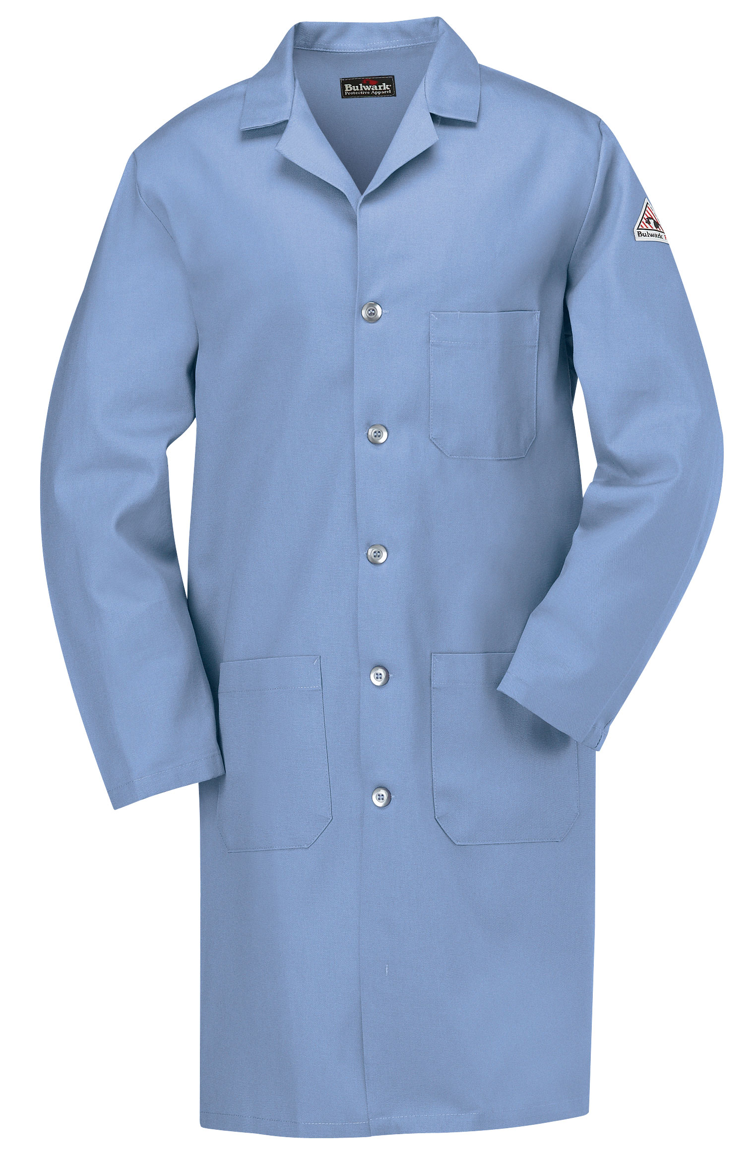 Bulwark® CAT 1 Flame-Resistant Mens Lab Coat