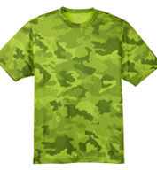 Custom Adult CamoHex Tee Mens