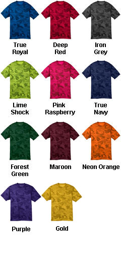 Youth CamoHex Tee - All Colors