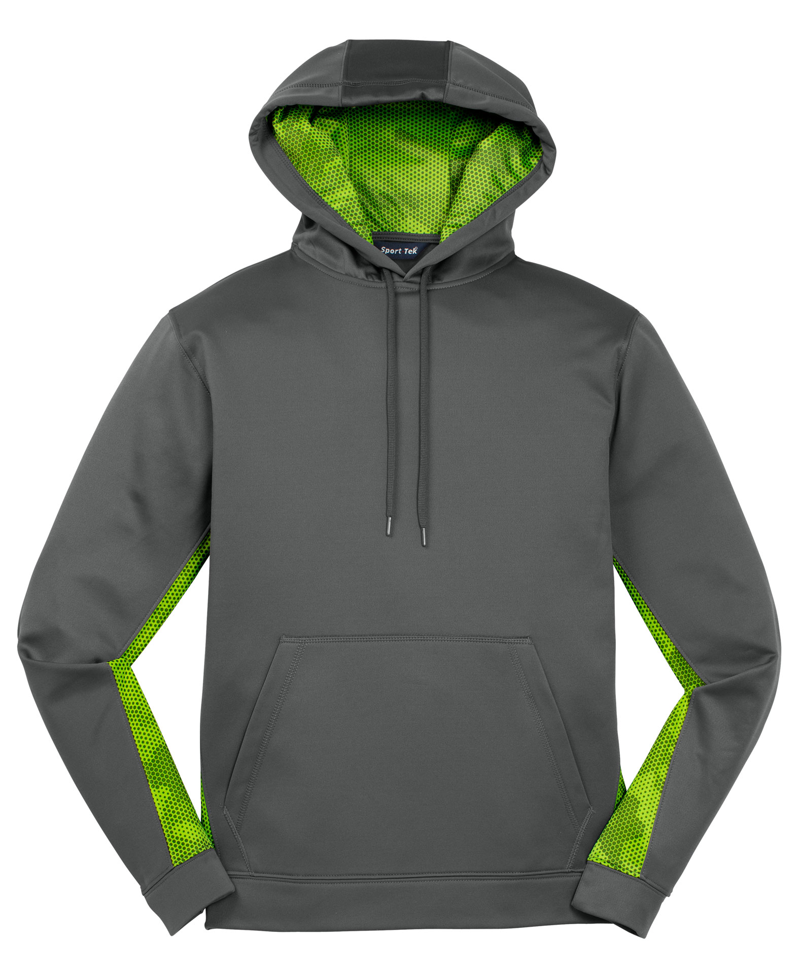 Adult CamoHex Fleece Colorblocked Hooded Pullover
