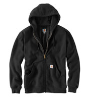 Custom Carhartt Mens Rutland Thermal Lined Hooded Sweatshirt