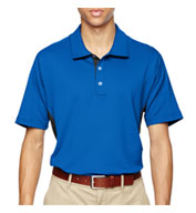 Custom Adidas Golf Mens Puremotion® Colorblock Polo