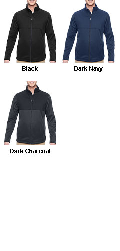 Mens Task Performance Fleece Full-Zip Jacket - All Colors