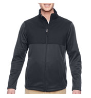 Custom Mens Task Performance Fleece Full-Zip Jacket