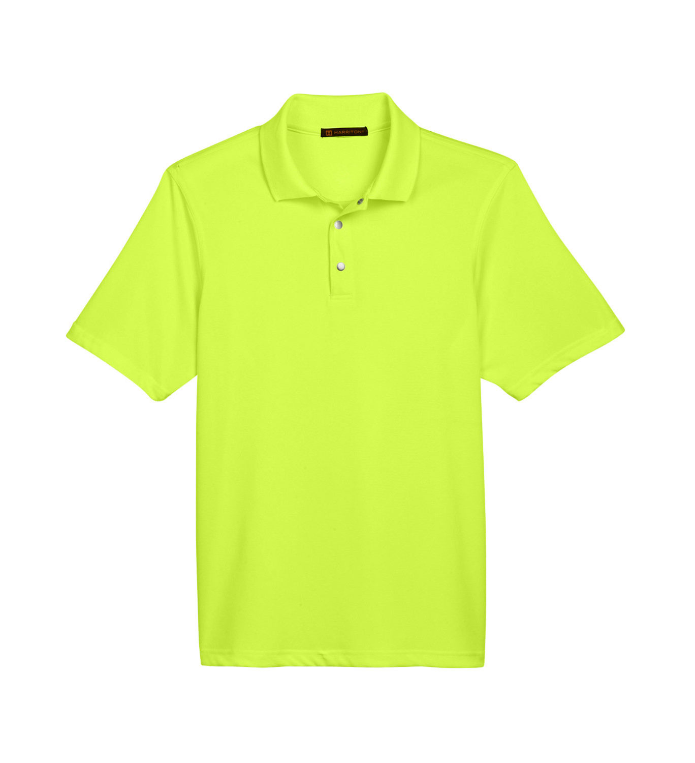 Mens Advantage Snap Placket Performance Polo