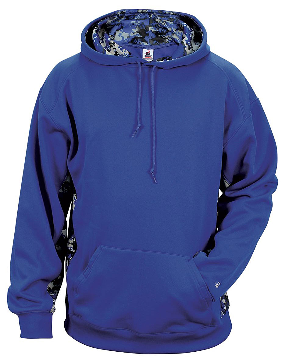 Badger Youth Digital Colorblock Hood