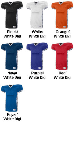 Adult Dual Threat Football Jersey - All Colors