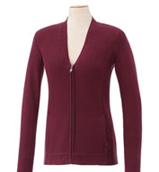 Ladies Lockhart Full Zip  Cotton Sweater