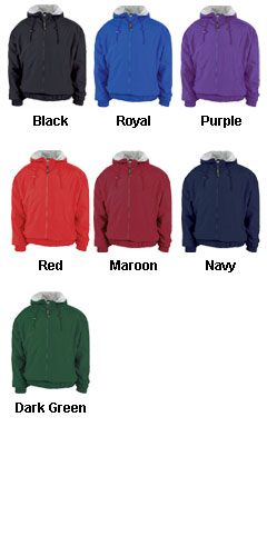 Full Zip Coaches Sideline Jacket - All Colors