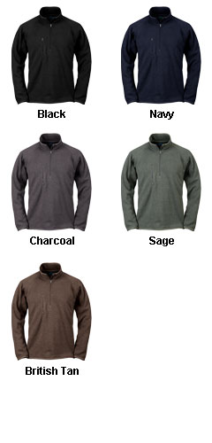 Regan 1/4-Zip Fleece Pullover - All Colors
