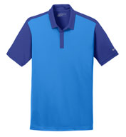 Custom Nike Golf Mens Dri-FIT Colorblock Icon Polo