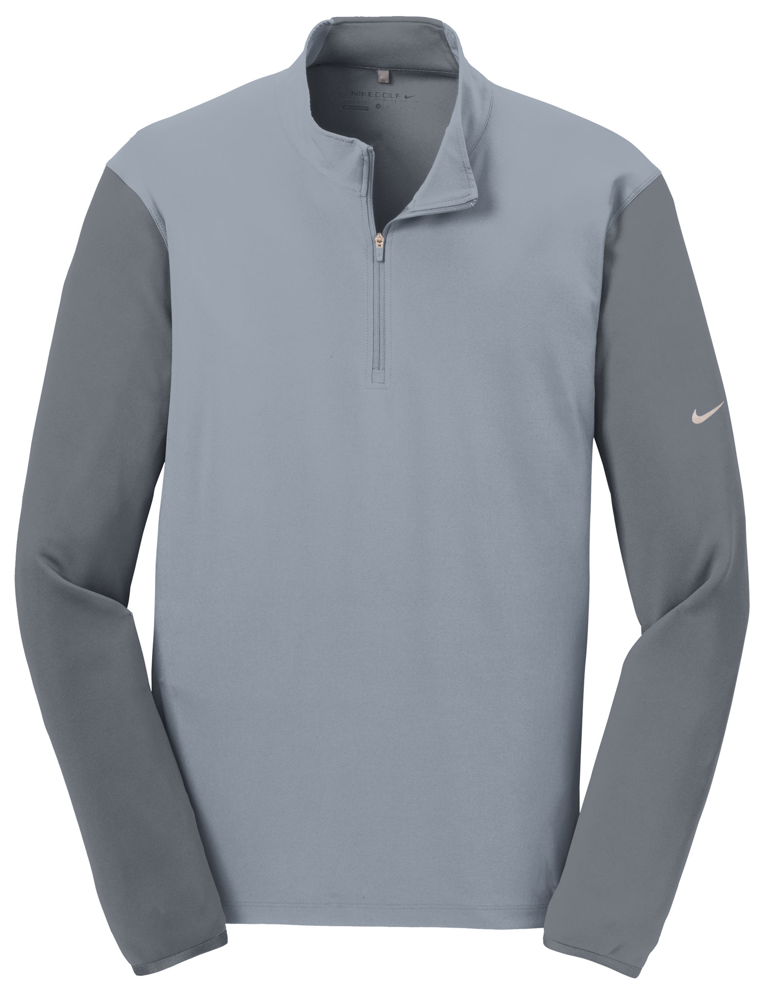 Nike Golf Mens Dri-FIT Fabric Mix 1/2-Zip Cover-Up